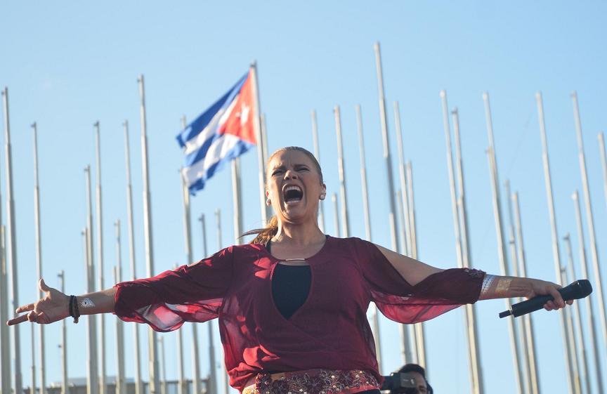 Olga Tañon. Foto; Yander Zamora