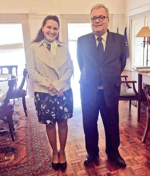 ministro-de-cultura-de-portugal-recibe-a-embajadora-de-cuba