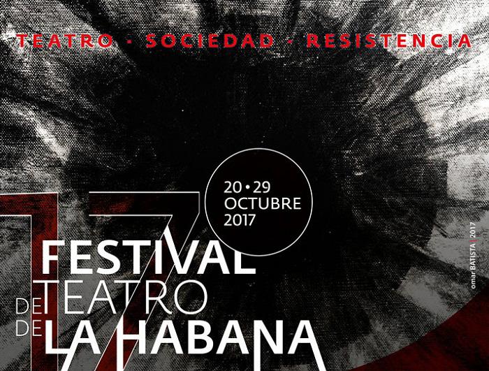 cartel-del-festival-de-teatro-de-la-habana-2017-diseno-omar-batista
