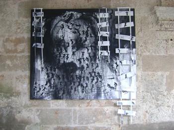 Obra de Ascanio, dedicada al Apóstol en Expo POR EL AMOR SE VE
