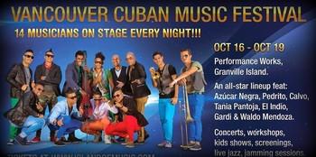 Primer Festival de Música Cubana Vancouver 2014.