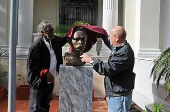 Busto de Martí en el MINCULT. Foto: Juan Carlos Borjas.