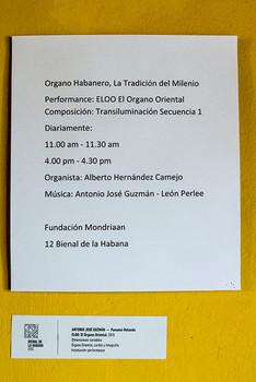 Exposición órgano habanero, la tradición del Milenio