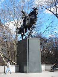 Statue of José Martí on horseback in New York's Central Park – Anna Hyatt Huntington, 1959