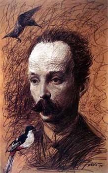 José Martí. Roberto Fabelo.