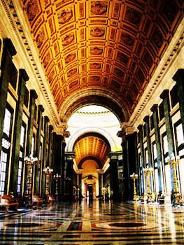 Salón de los pasos perdidos, Capitolio Nacional de Cuba.