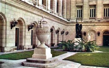 Patio interior,Capitolio Nacional de Cuba.