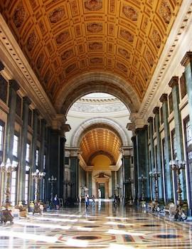 Salón de los Pasos Perdidos,Capitolio Nacional de Cuba.