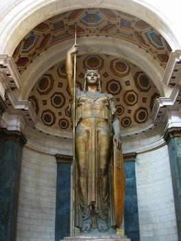 Estatua de la República,Capitolio Nacional de Cuba.