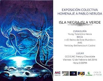 Expo Isla Negra-Isla Verde. Asociación Hermanos Saíz.