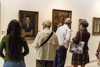 Imágenes de Expo Rostros de la Modernidad.
