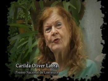 Carilda Oliver Labra, reconocida poetisa matancera.