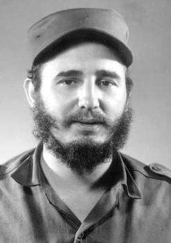Comandante Fidel Castro Ruz.