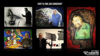 Imágenes de Expo EL FIDEL QUE CONOCEMOS por los 90 años del Comandante.