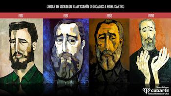 Fundación Guayasamín celebra el 87 aniversario del Cmte. Fidel Castro
