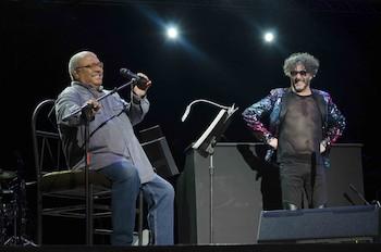 Fito Páez en concierto en el teatro Karl Marx de La Habana
