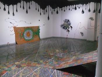Amanecer. Obra de Enrique Espinosa. Centro Provincial de Artes Plásticas y Diseño en la Habana Vieja.