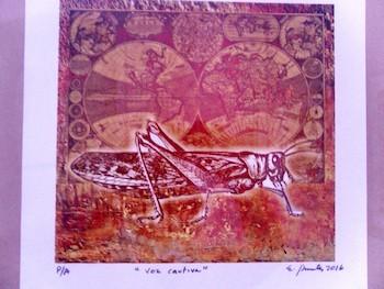 Obra de Enrique Espinosa. Centro Provincial de Artes Plásticas y Diseño en la Habana Vieja.