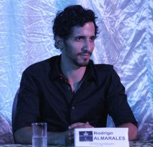 Rodrigo Almarales, director general de la puesta en escena.
