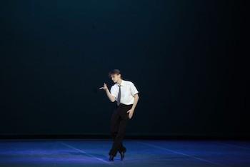 Ballet Royalty durante el ensayo de la presentación.
