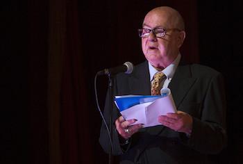 Palabras inaugurales de Miguel Barnet, en Gala por 55 años de la UNEAC.