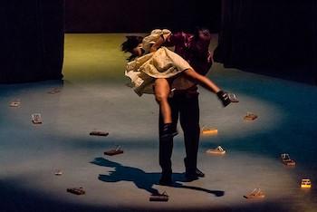 La sombra de los otros/ por Danza Espiral (Matanzas) en III Concurso de Danza y Grand Prix Vladimir Malakhov.
