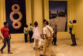 Expo personal de Michelangelo Pistoletto en La Habana, Cuba.