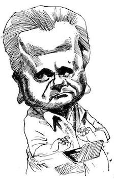 Caricatura a Luberta