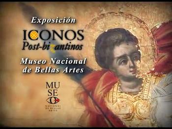 Spot para Tv Expo ICONOS POST-BIZANTINOS.