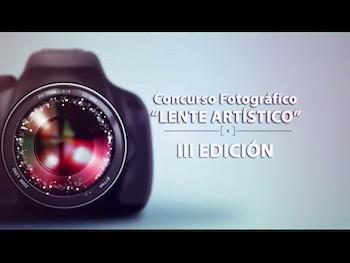 Spot para Tv CONCURSO LENTE ARTÍSTICO.