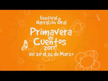 Spot para Tv Festival de Narración Oral. Primavera de Cuentos (2017).