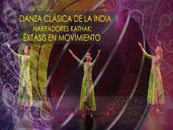 Spot para Tv DANZA CLÁSICA DE LA INDIA en Cuba/ por Éxtasis en movimento (Narradores Kathak).