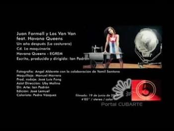 LA COSTURERA, CD La Maquinaria/ por Juan Formell y Los Van Van.