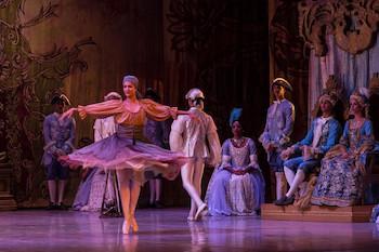 La bella Durmiente/ por Ballet Nacional de Cuba. 27º Festival Internacional de Ballet de La Habana. Día 1º de Noviembre