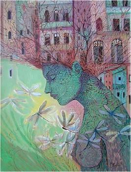 Vuelo de libélulas (2008)/ por Isolina Limonta